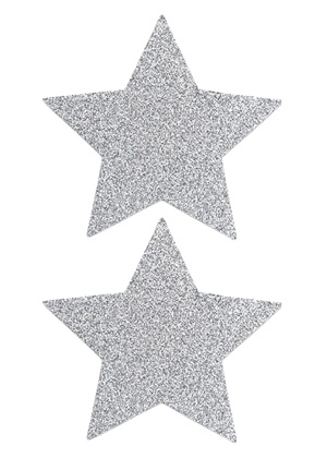lingerie Nippies Flash Star Silver